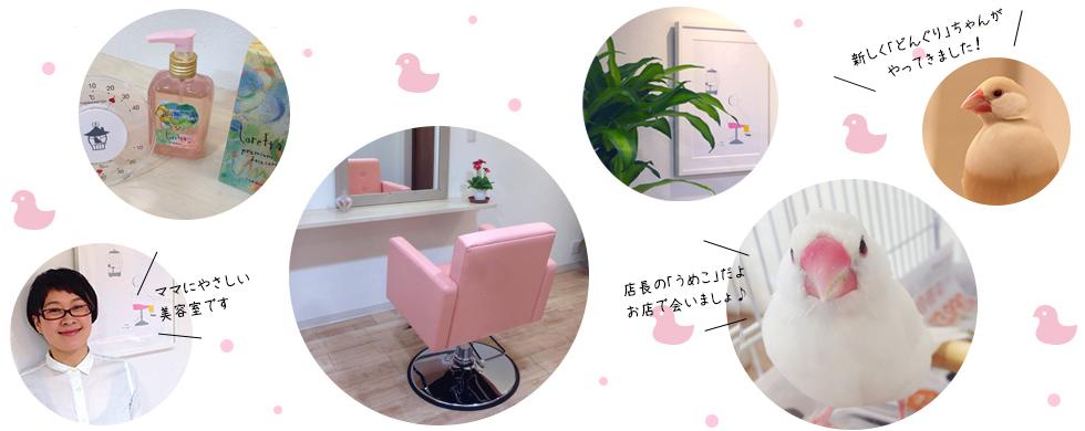 おうち美容室KOTORIメイン画像